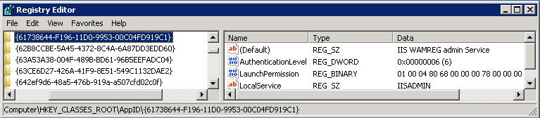 SharePoint and the Local Activation permission on DCOM objects on